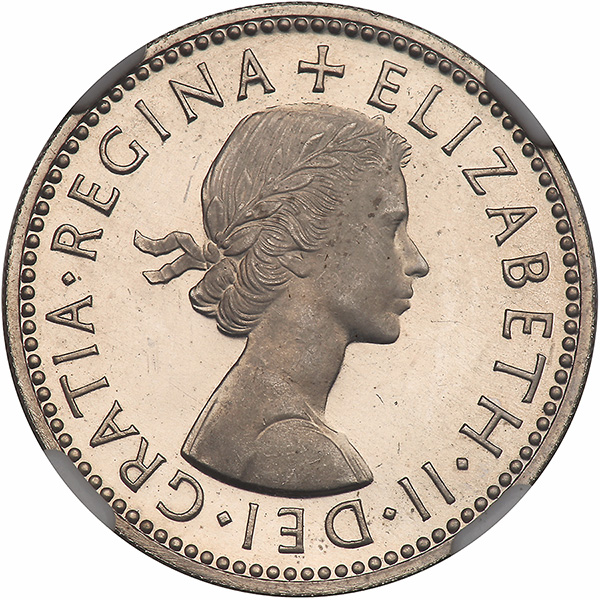 Shilling: Photo Great Britain 1960 shilling KM-904