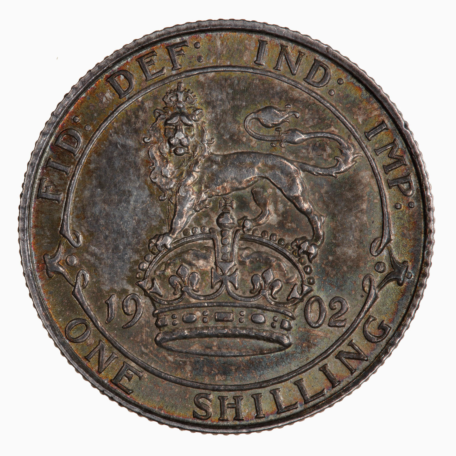 Shilling: Photo Coin - Shilling, Edward VII, England, Great Britain, 1902
