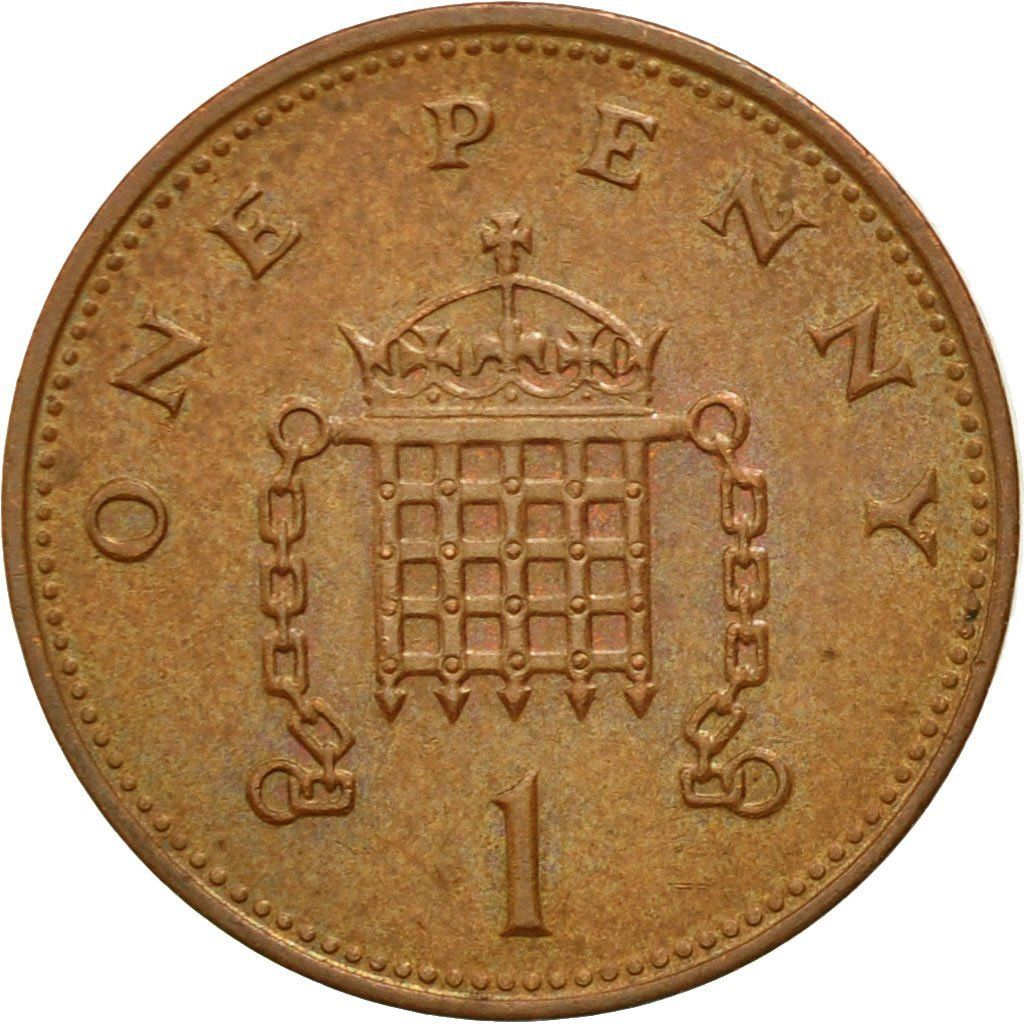 One Penny 1997: Photo Coin, Great Britain, Elizabeth II, Penny, 1997