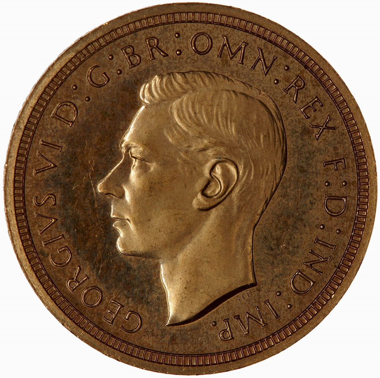 Half Sovereign (Pre-decimal, St George): Photo Proof Coin - Half-Sovereign, George VI, Great Britain, 1937