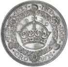 Crown 1929: Photo GEORGE V, fourth coinage, wreath crown, 1929 (S.4036)