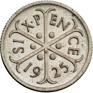 United Kingdom / Sixpence (Pattern) - reverse photo