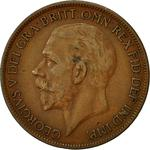 United Kingdom / Penny 1927 - obverse photo