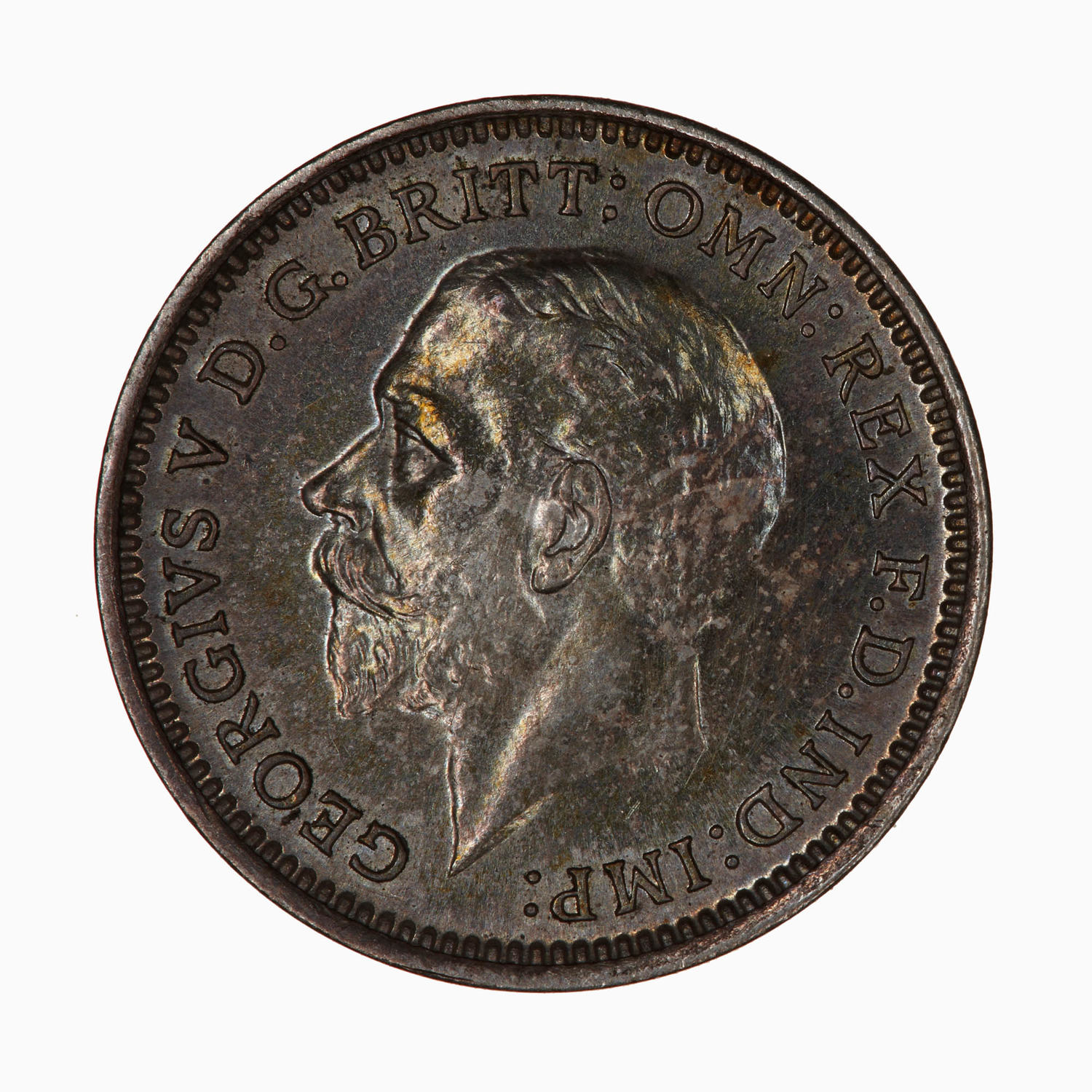 Maundy Threepence (Debased silver): Photo Coin - Threepence (Maundy), George V, Great Britain, 1932