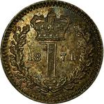 United Kingdom / Penny 1871 (Maundy) - reverse photo