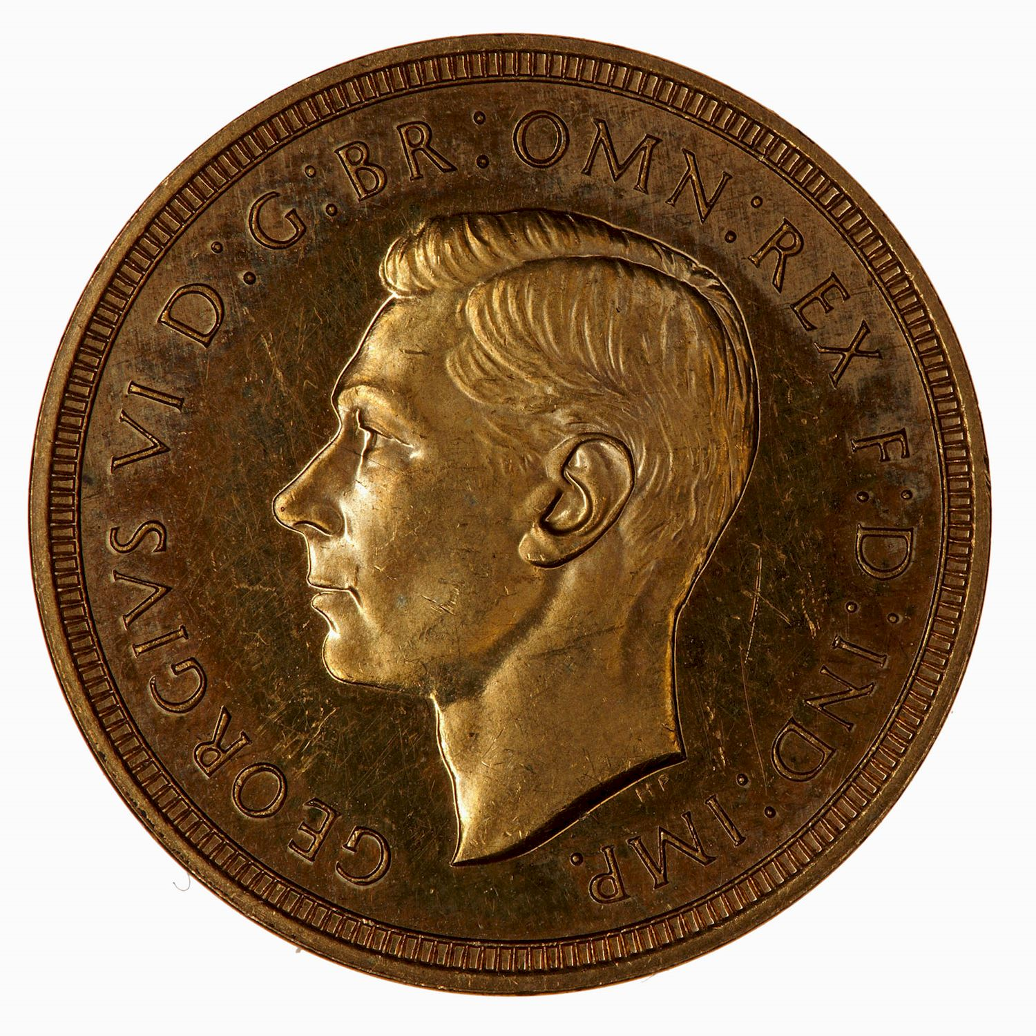 Sovereign (Pre-Decimal): Photo Proof Coin - Sovereign, George VI, Great Britain, 1937