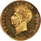 Two Pounds 1826 (Proof only): Photo Great Britain 1826 2 pounds