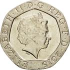 United Kingdom / Twenty Pence 2015 (Fourth Portrait) - obverse photo