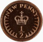 United Kingdom / Half Penny 1972 (Proof only) - reverse photo