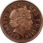 United Kingdom / Two Pence 1998 - obverse photo