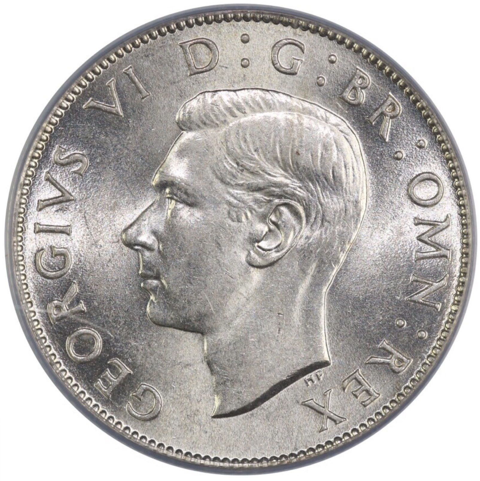 Two Shillings (Florin) 1946: Photo 1946 Florin, George VI