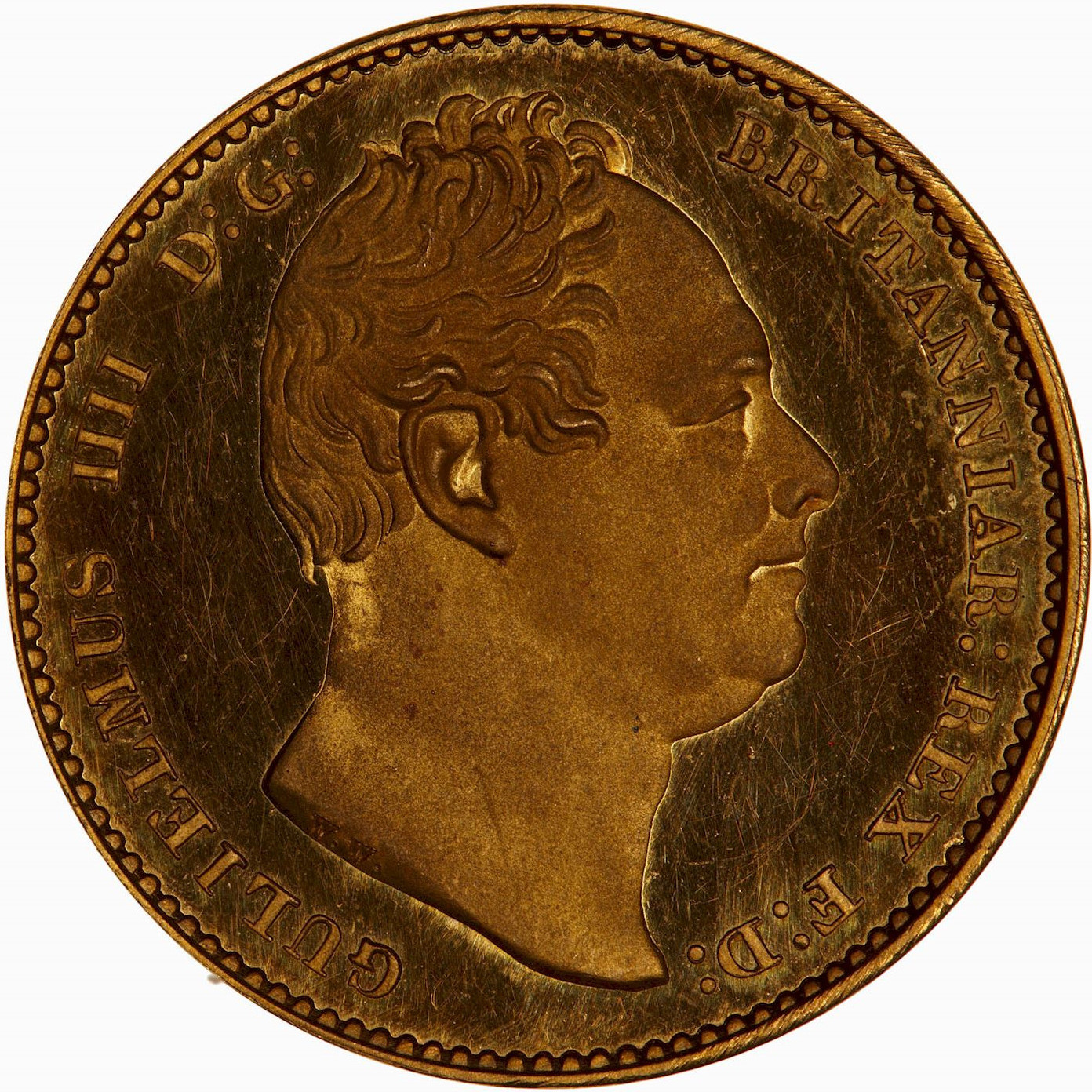 Sovereign (Pre-Decimal): Photo Proof Coin - Sovereign, William IV, Great Britain, 1831