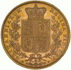 United Kingdom / Sovereign 1885 Shield - reverse photo