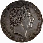 Crown 1818: Photo Coin - Crown, George III, Great Britain, 1818