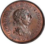 United Kingdom / Penny 1806 - obverse photo