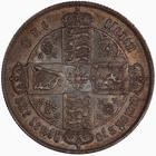 United Kingdom / Florin 1866 - reverse photo