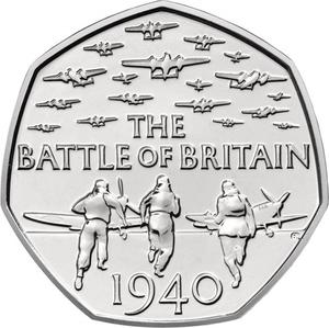 United Kingdom / Fifty Pence 2015 Battle of Britain (Fifth Portrait) - reverse photo