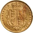 Half Sovereign 1876: Photo Great Britain 1876 1/2 sovereign