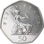 United Kingdom / Fifty Pence 1998 - reverse photo