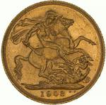 Sovereign 1903: Photo Coin - Sovereign, New South Wales, Australia, 1903
