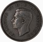 Shilling 1948 Scottish: Photo Coin - Shilling, George VI, Great Britain, 1948