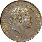 United Kingdom / Halfcrown 1817 Small Head - obverse photo