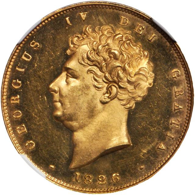 Two Pounds (Pre-decimal): Photo Great Britain 1826 2 pounds