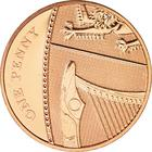 United Kingdom / One Penny - reverse photo