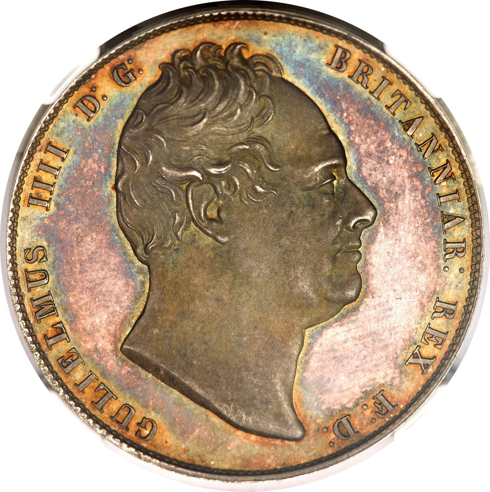 Halfcrown William IV: Photo Great Britain 1831 half crown