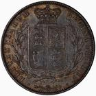 United Kingdom / Halfcrown 1844 - reverse photo