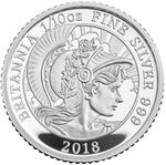 United Kingdom / Silver Tenth-Ounce 2018 Britannia - reverse photo