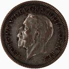 Sixpence 1927 Lion on Crown: Photo Coin - Sixpence, George V, Great Britain, 1927