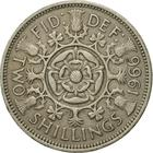 United Kingdom / Two Shillings (Florin) 1966 - reverse photo