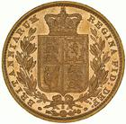 United Kingdom / Sovereign 1886 Shield - reverse photo