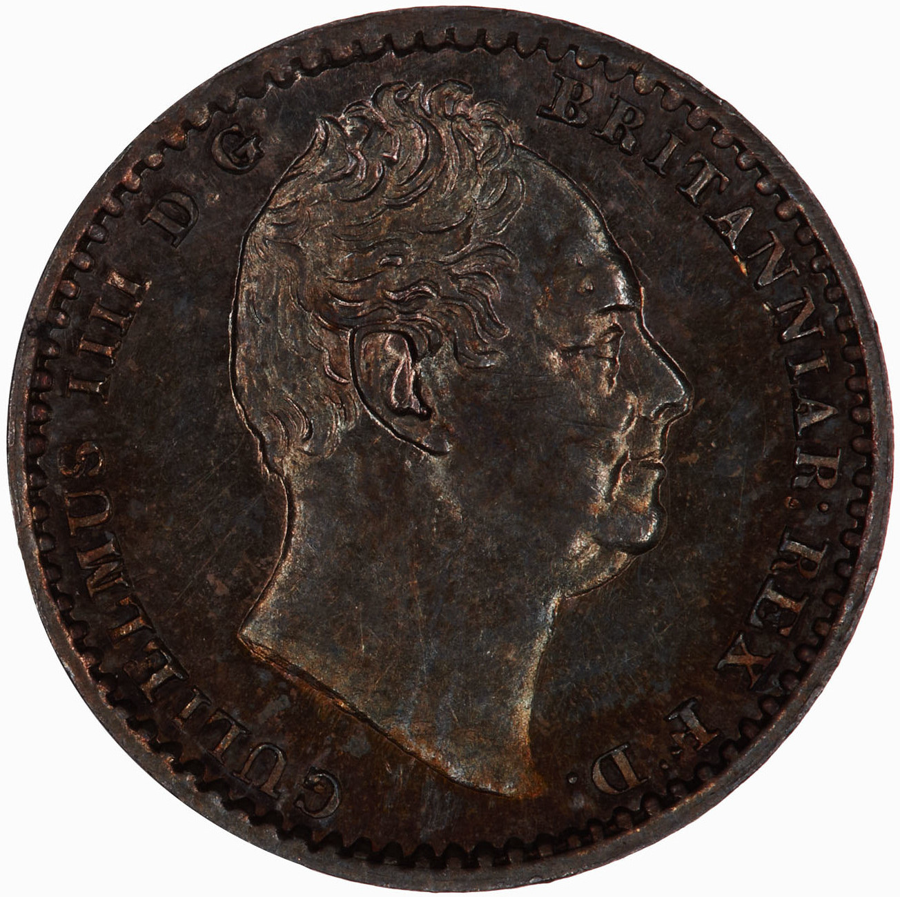 Maundy Penny (Pre-decimal): Photo Coin - Penny (Maundy), William IV, Great Britain, 1836