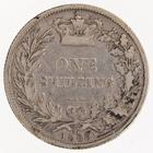 Shilling 1868: Photo Silver shilling, Great Britain