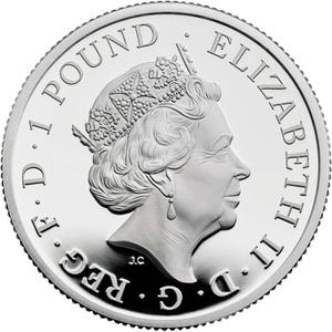 United Kingdom / Silver Half Ounce (1/2 oz) - obverse photo