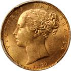 United Kingdom / Sovereign 1870 - obverse photo