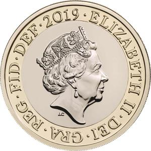 United Kingdom / Two Pounds 2019 Britannia (mint sets only) - obverse photo