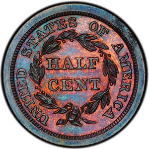 United States / Half Cent 1841 Braided Hair (Proof only) - reverse photo