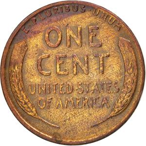 United States / One Cent 1934 Wheat Penny - reverse photo