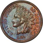 United States / One Cent 1873 Indian Head / Double Liberty - obverse photo