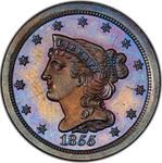 United States / Half Cent 1855 Braided Hair / Proof - obverse photo