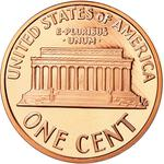 United States / One Cent 2005 Lincoln Memorial / Proof (San Francisco) - reverse photo