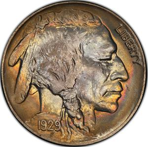 United States / Five Cents 1929 Buffalo Nickel - obverse photo