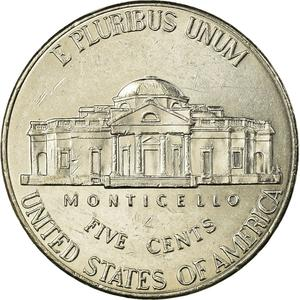 United States / Five Cents 2013 Jefferson Nickel - reverse photo