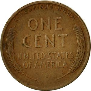 United States / One Cent 1941 Wheat Penny - reverse photo