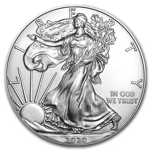 United States / Silver Ounce 2020 American Eagle - reverse photo