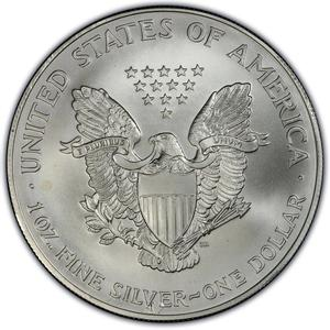United States / Silver Ounce 1999 American Eagle - obverse photo