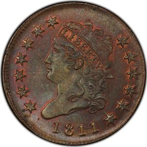 United States / One Cent 1811 Classic Head - obverse photo